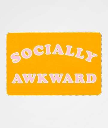 JV by Jac Vanek Socially Awkward pegatina