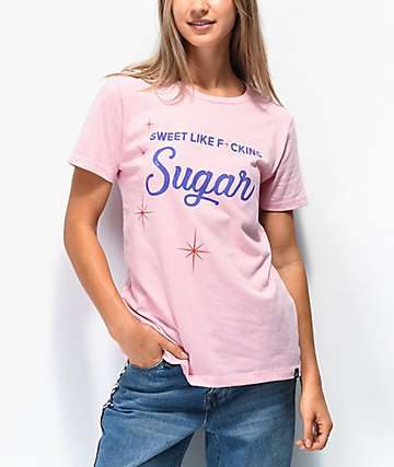 JV by Jac Vanek Sugar Pink T-Shirt