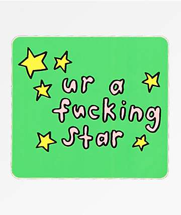 JV by Jac Vanek Ur A Star Sticker