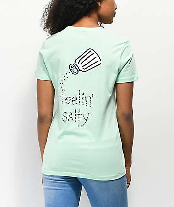 JV by Jack Vanek Feelin Salty Mint T-Shirt