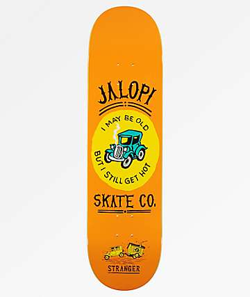 "Jalopi Skate Co. by Anti Hero Stranger 8.25"" Skateboard Deck"