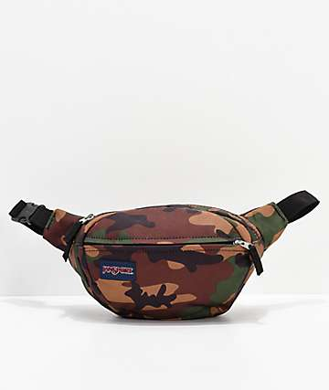 JanSport Fifth Avenue Surplus Camo Fanny Pack