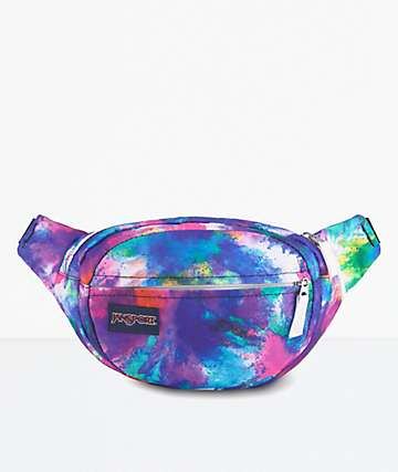 JanSport Fifth Avenue Tie Dye Bomb Fanny Pack