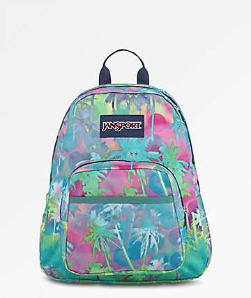 JanSport Half Pint Electric Palm Mini Backpack