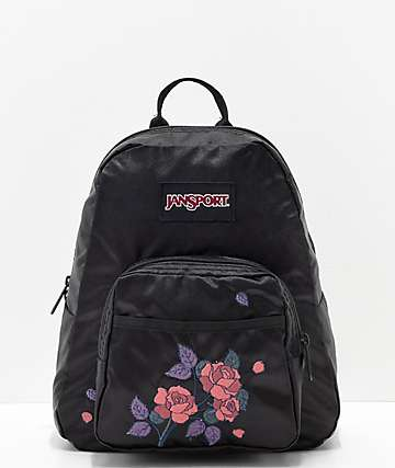 JanSport Half Pint FX Satin Rose Mini Backpack