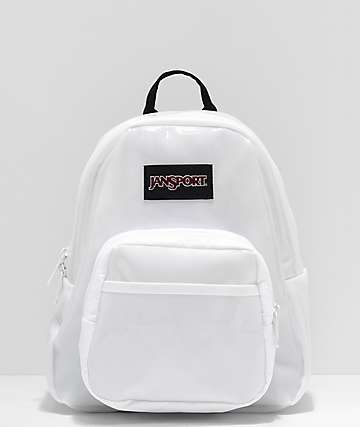 JanSport Half Pint FX Translucent White Mini Backpack