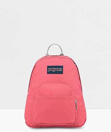 JanSport Half Pint Strawberry Pink Mini Backpack