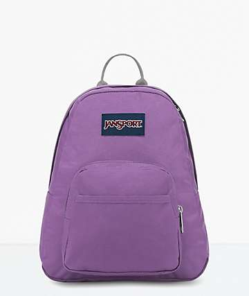 JanSport Half Pint Vivid Lilac Mini Backpack