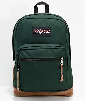 JanSport Right Pack Pine Grove mochila verde