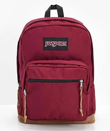 JanSport Right Pack Russet mochila roja