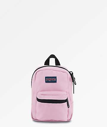 JanSport Right Pouch Lil Break Pink Mini Backpack