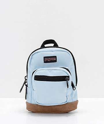 JanSport Right Pouch Pale Blue Mini Backpack