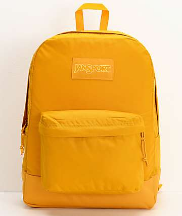 JanSport Superbreak Mono English Mustard Backpack