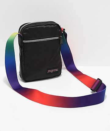 JanSport Weekender FX Rainbow Crossbody Bag