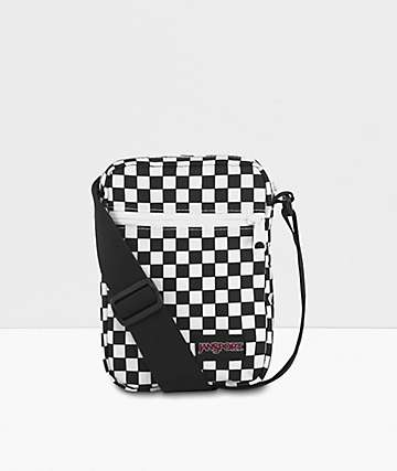 JanSport Weekender Finish Line Flag Checker Shoulder Bag