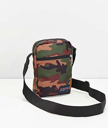 JanSport Weekender Surplus Camo Crossbody Bag