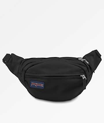 Jansport Fifth Avenue Black Fanny Pack