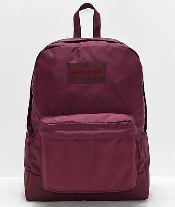 Jansport Superbreak Mono Dried Fig Backpack