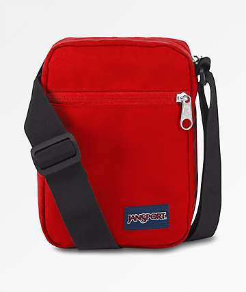 Jansport Weekender Red Tape Utility Bag