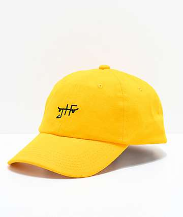 Just Have Fun Classic Skate Mustard Strapback Hat