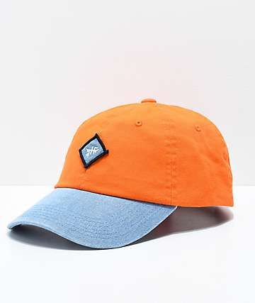 Just Have Fun Legacy Peach & Denim Strapback Hat