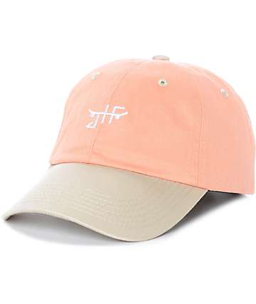 Just Have Fun Toned Out gorra strapback en color melocotón