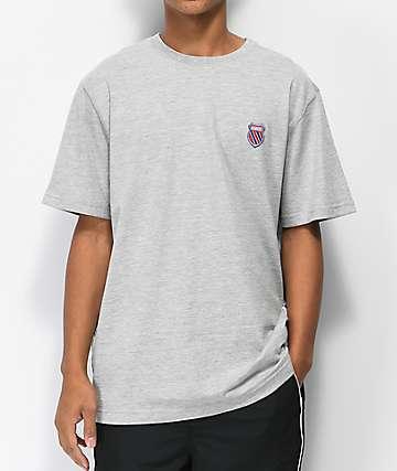 K-Swiss Badged camiseta gris