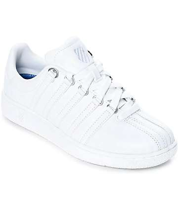 K-Swiss Classic VN All White Shoes