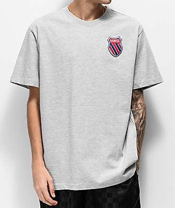 K-Swiss My Swiss Grey T-Shirt