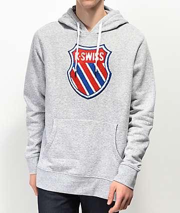 K-Swiss Slam Lux Grey Hoodie