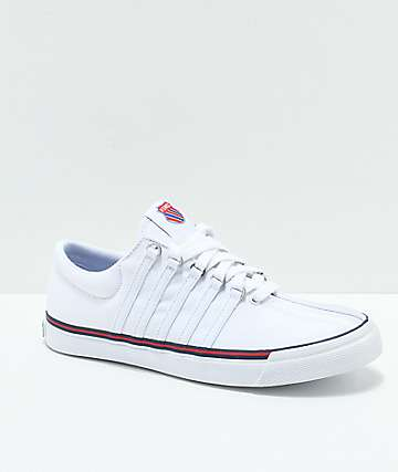 K-Swiss Surf 'N Turf Heritage White Canvas Shoes