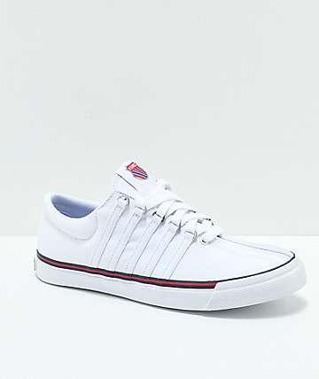 K-Swiss Surf 'N Turf Heritage zapatos de lienzo blanco