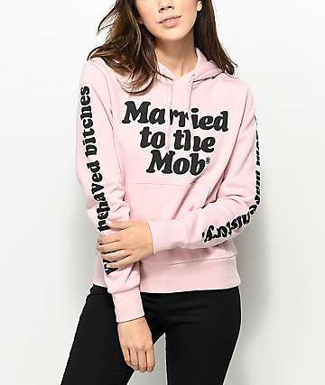 K-Swiss x MTTM Well Behaved sudadera en rosa polvorienta