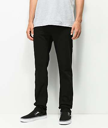 KR3W K jeans negros estándar