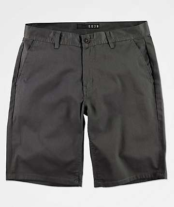 KR3W Klassic Custom Green Chino Shorts