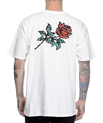 KR3W Rosa White T-Shirt
