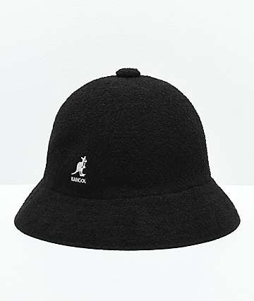 Kangol Bermuda Casual Black & White Bucket Hat