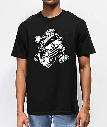 Key Street Bandit Black T-Shirt