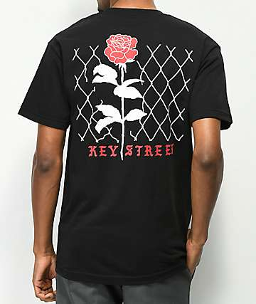 Key Street Chainlink Black T-Shirt