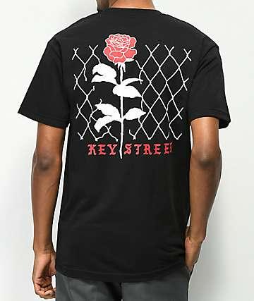 Key Street Chainlink Black T-Shirt