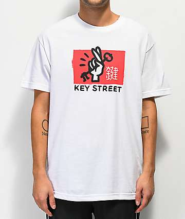 Key Street Good Luck White T-Shirt