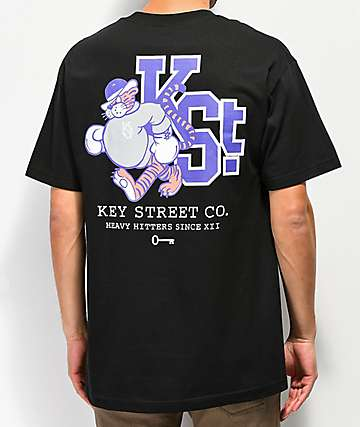 Key Street Mascot Black T-Shirt