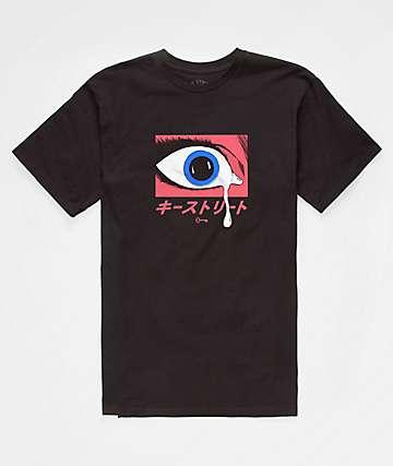 Key Street Teardrop Black T-Shirt