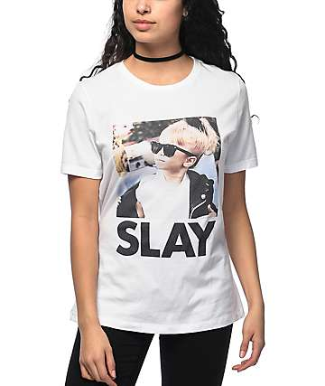 Kill Brand Slay Michelle camiseta blanca