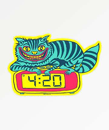 Killer Acid 420 Cat Sticker