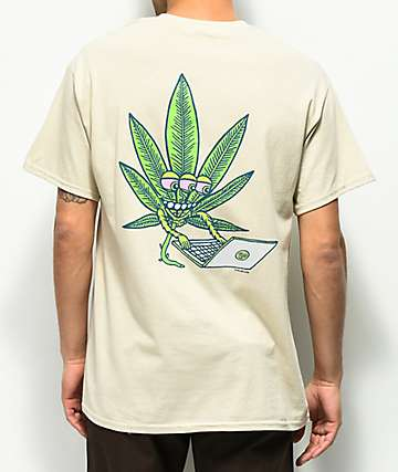 Killer Acid High Functioning Tan T-Shirt