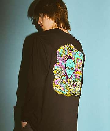 Killer Acid No Bad Trips Black Long Sleeve T-Shirt