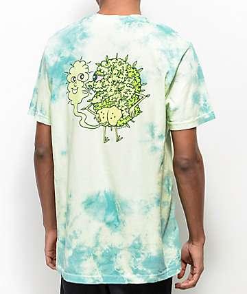 Killer Acid Own Supply camiseta verde con efecto tie dye