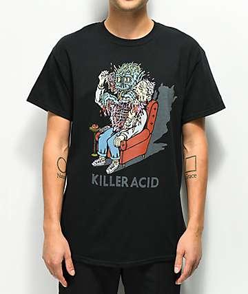Killer Acid Reptilian camiseta negra