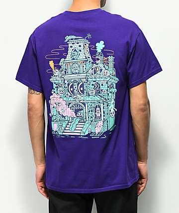 Killer Acid Spookhouse camiseta morada